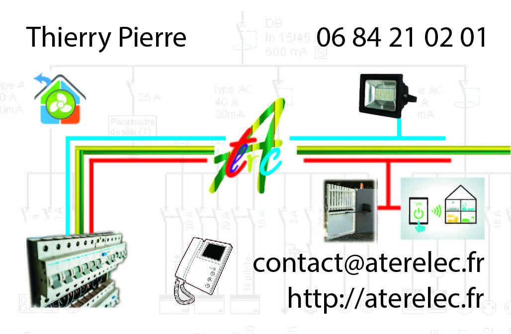 carte de visite aterrelec créée par infoweb38