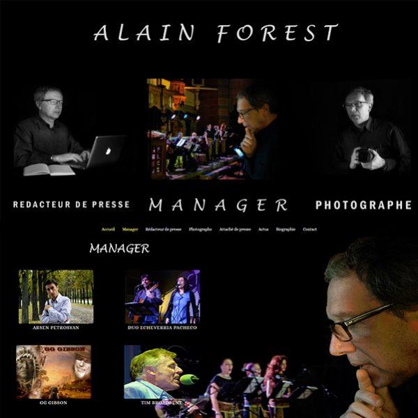 site d'alain forest par infoweb38