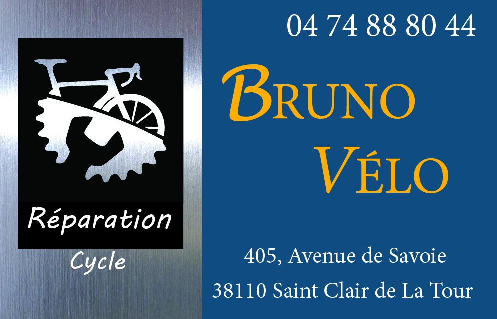 carte de visite de bruno vélo créée par infoweb38
