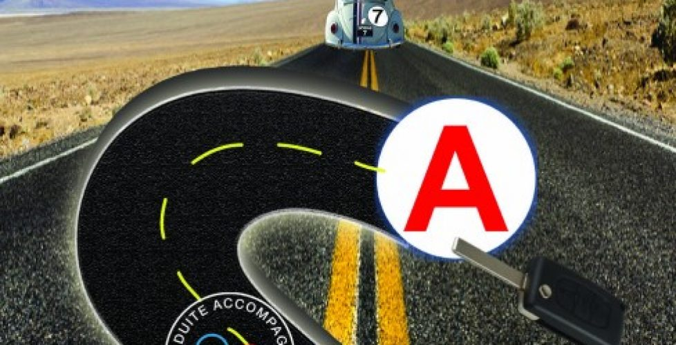 image du flyer d'ouverture de l'auto école skyline site internet nord isere infoweb38