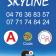 déco porte Skyline