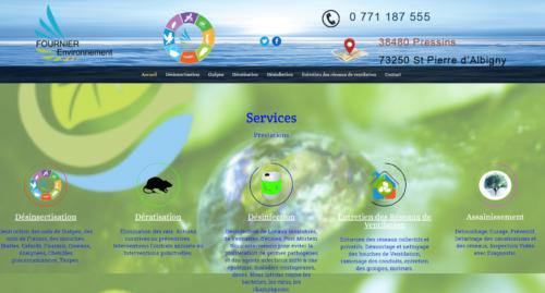 image du site fournier environnement par infoweb38