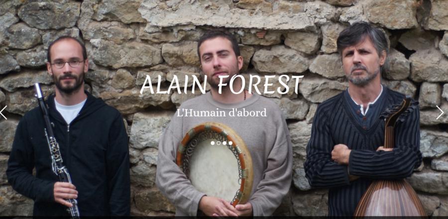 image du site alain forest par infoweb38