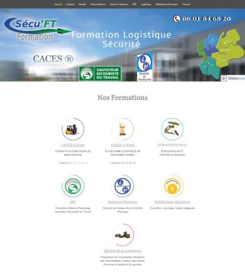 image du site sécuft créé par site internet nord isere infoweb38